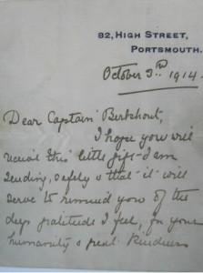 Letter Berkhout