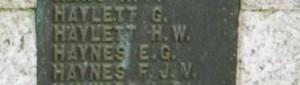 Memorial Haynes