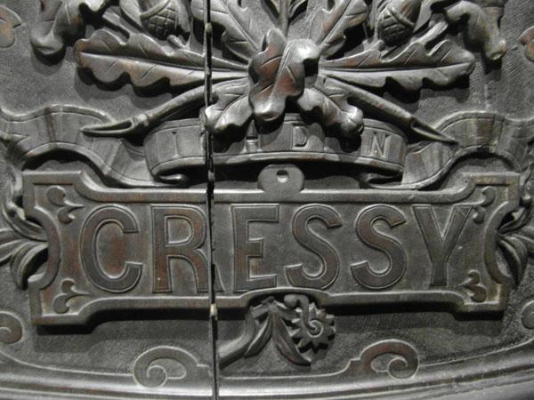 The door of the Cressy