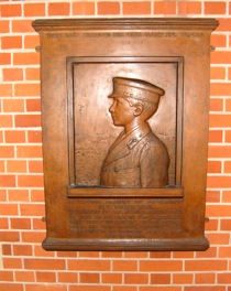 Plaque of Midshipsman Herbert Lawson Riley